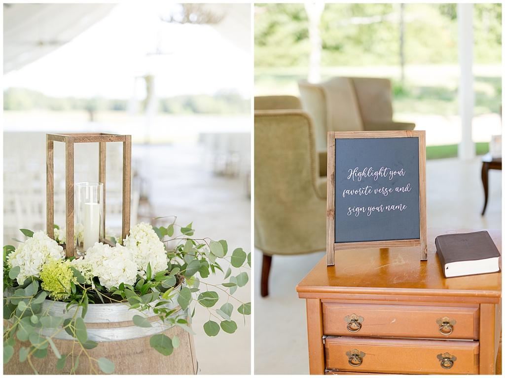 summer wedding at dodson farms