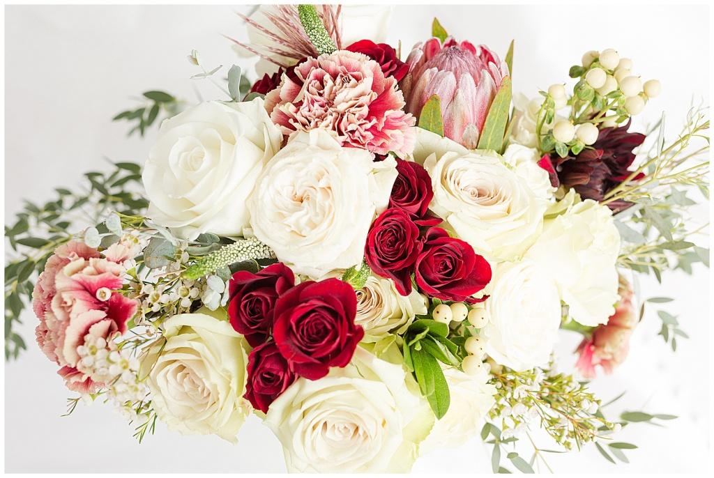 lake house wedding bouquet