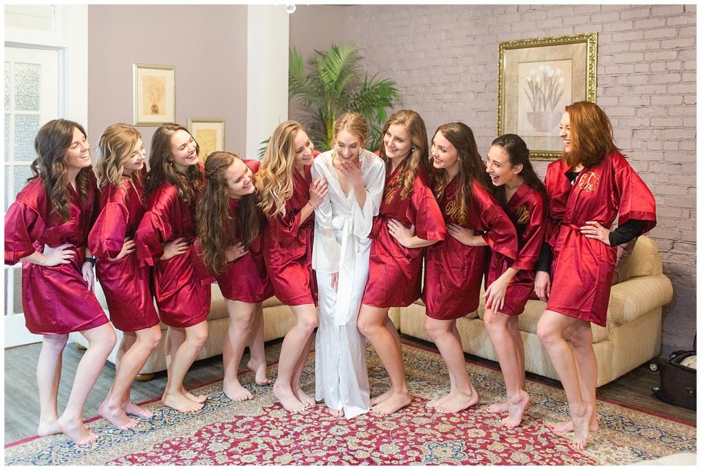 Bride Bridesmaids Robes