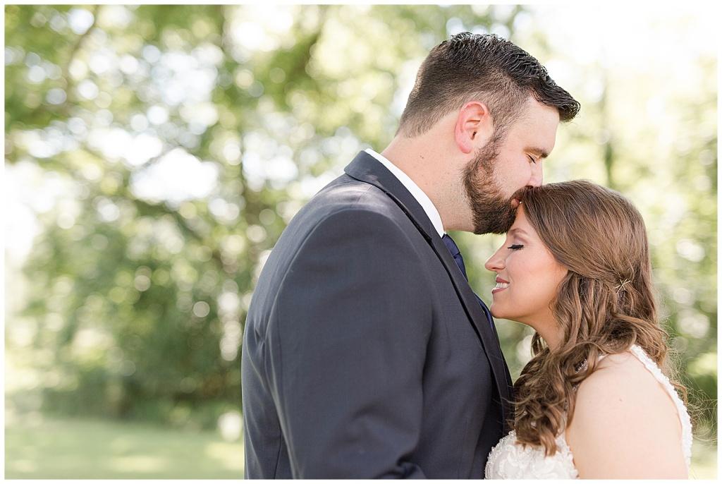 mississippi summer wedding bride & groom portraits
