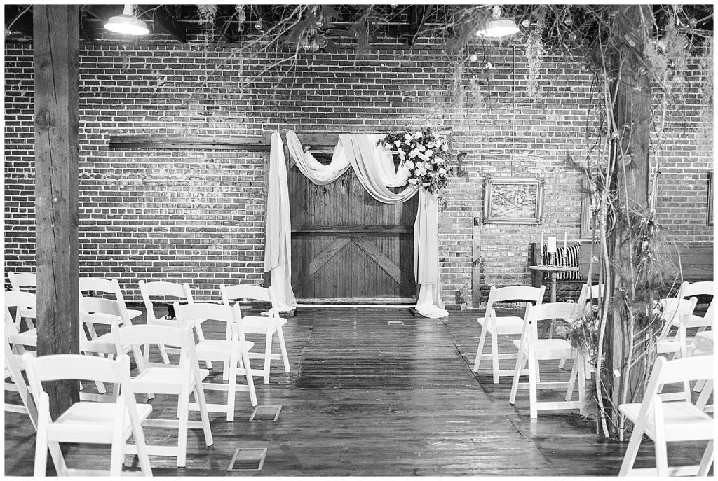 gatewood studio wedding ceremony