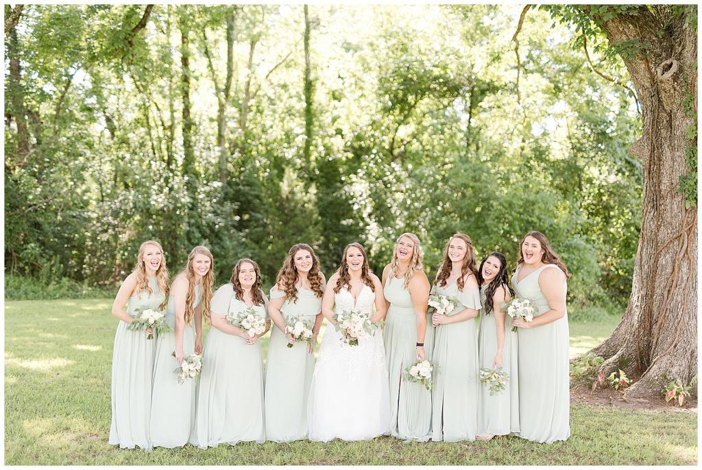 mississippi bridal party