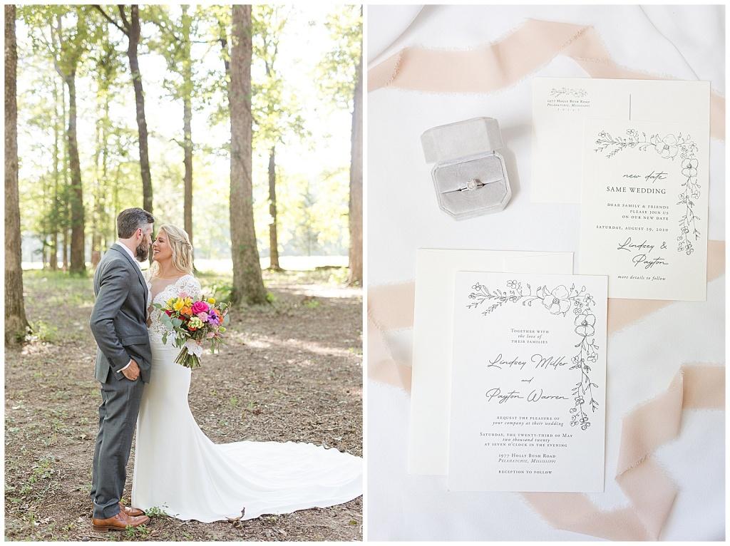 Mississippi Boho Outdoor Wedding