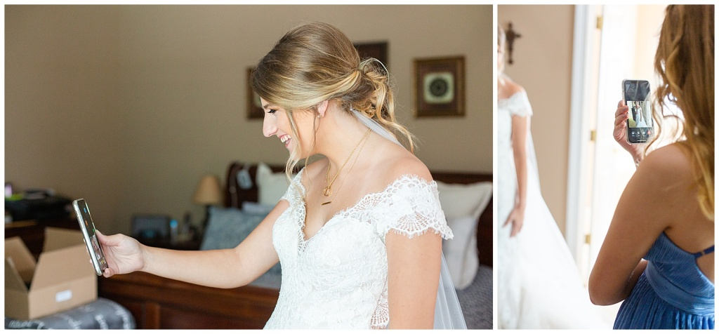 Coronavirus bridesmaids first look