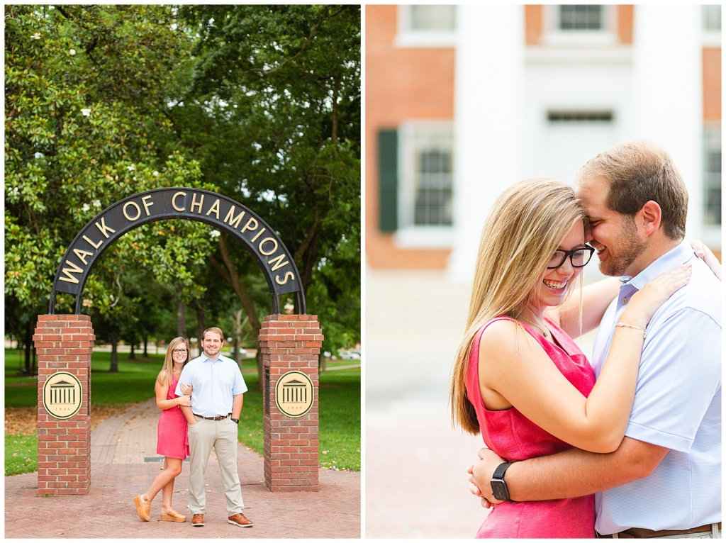 Ole Miss engagement session