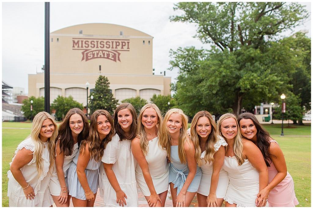 Mississippi State Chi Omega Seniors Celebrate