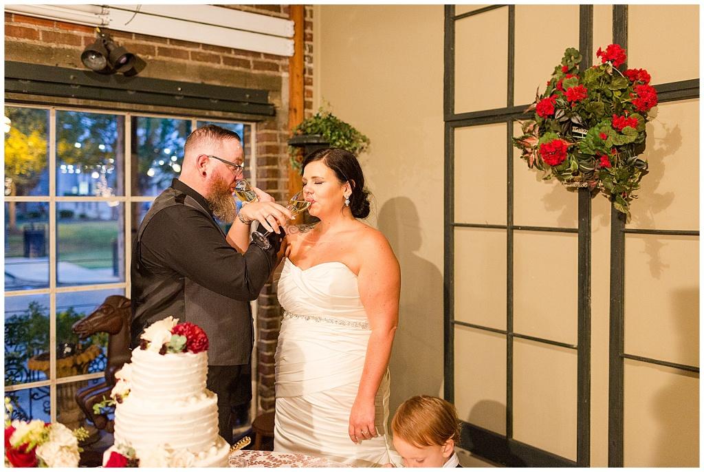 gatewood studio wedding reception