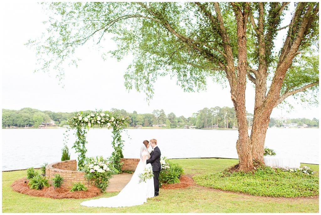 Mississippi Lakeside Wedding
