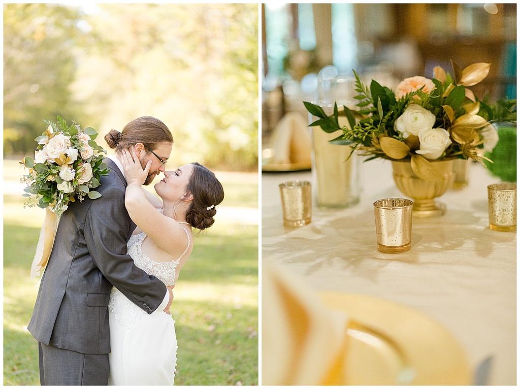 McClain Lodge Wedding Reception