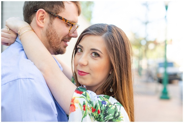 Engagement Session, Mississippi State Capitol,