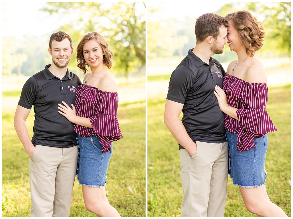 Maroon Engagement Session