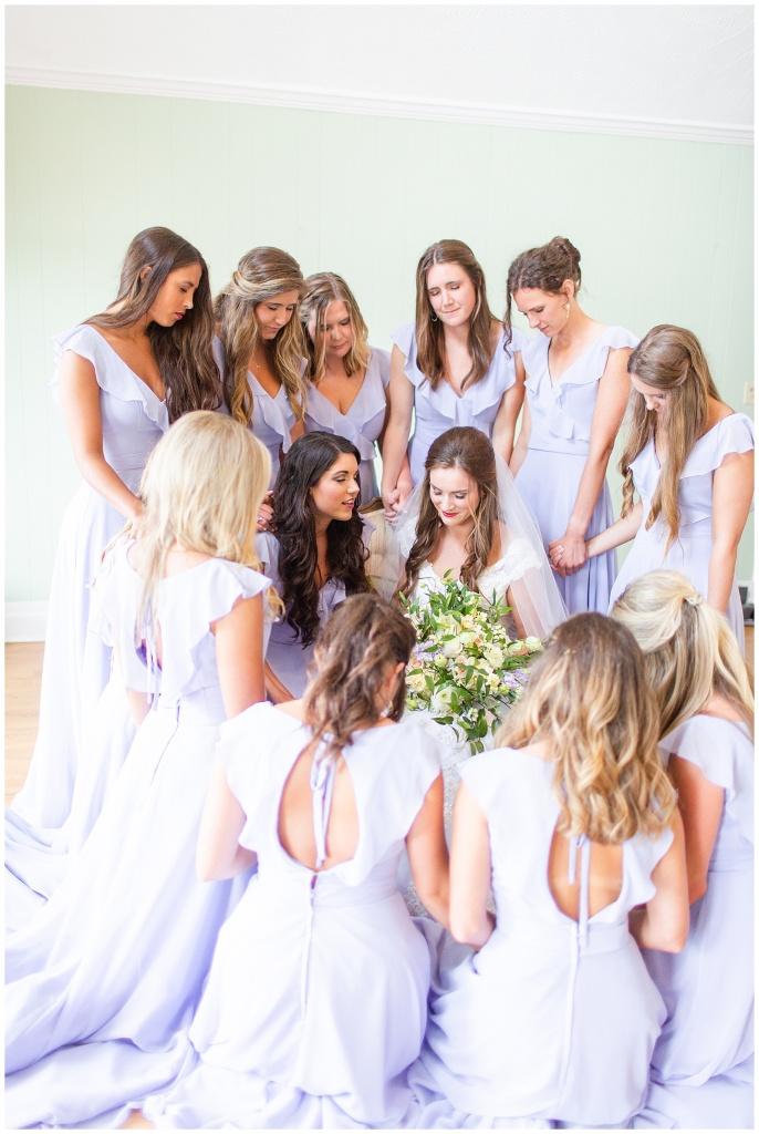 bridesmaids prayer