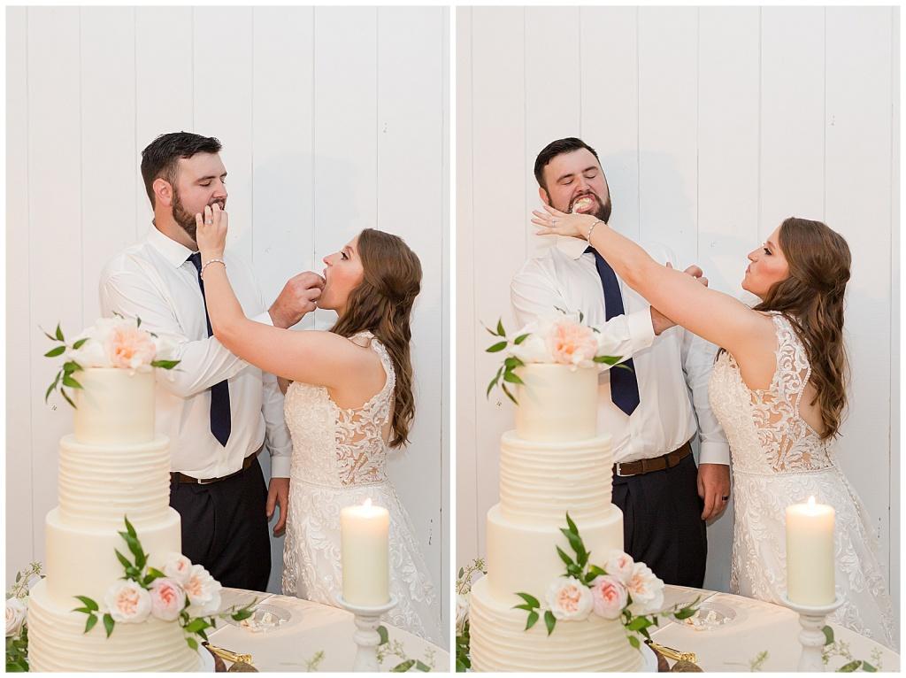 wedding reception at dodson farms