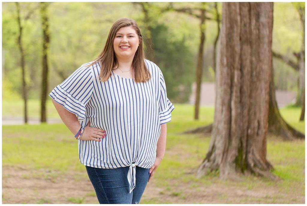 Mississippi Senior Girl Portrait