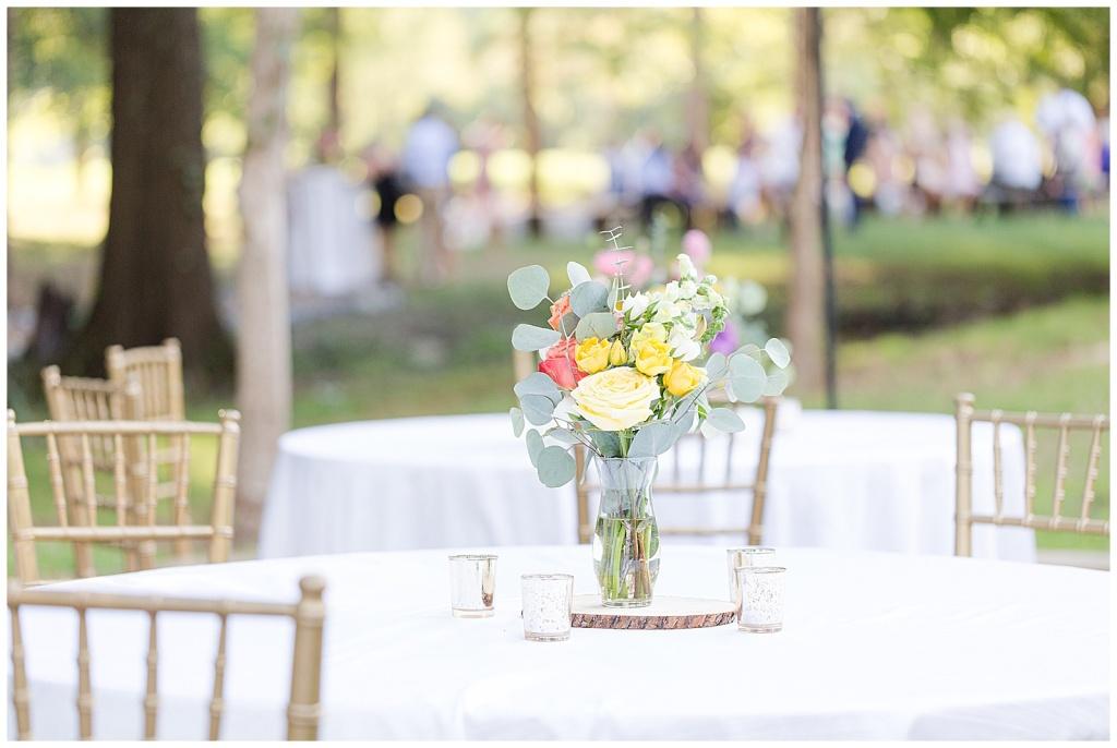 outdoor boho wedding