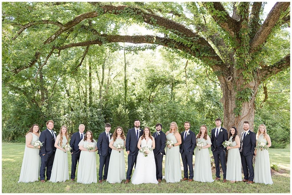 summer wedding at dodson farms starkville mississippi