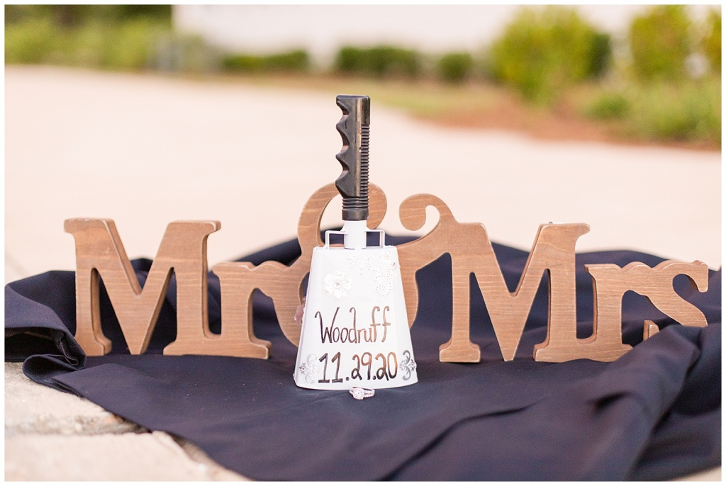 MSU cowbell engagement session
