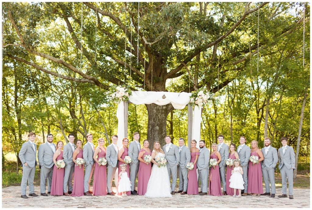 Bridlewood bridal party portraits