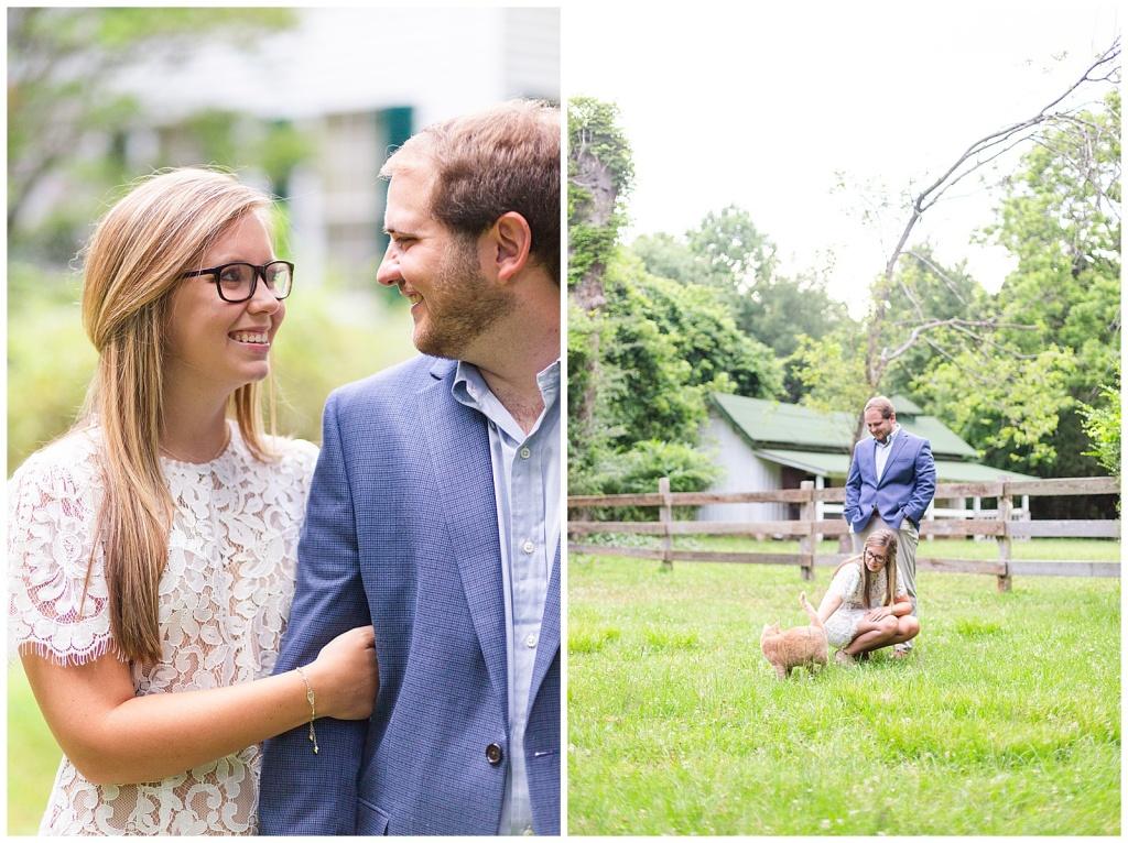 Rowan Oak engagement session
