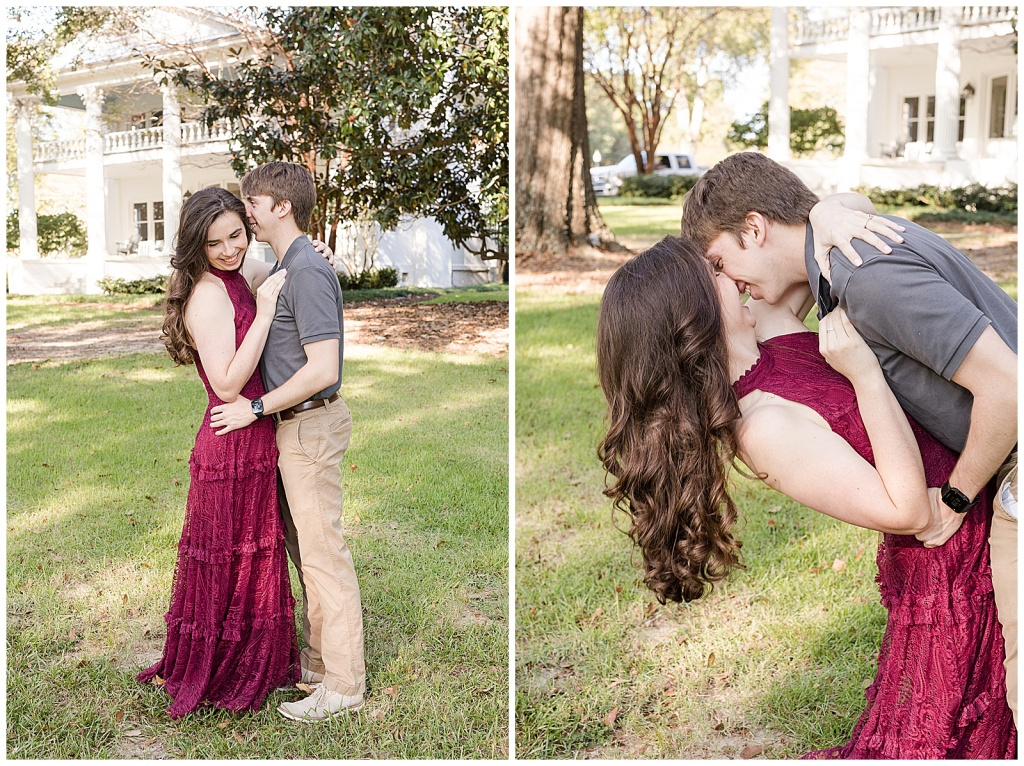 engagement session at reunion