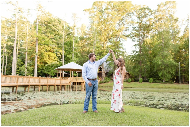 Engagement Session at McClain Lodge